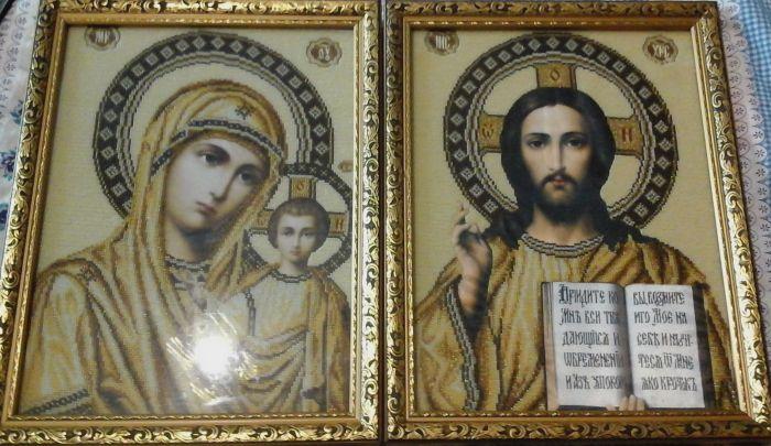 Венчальные иконы (Образы) - фото