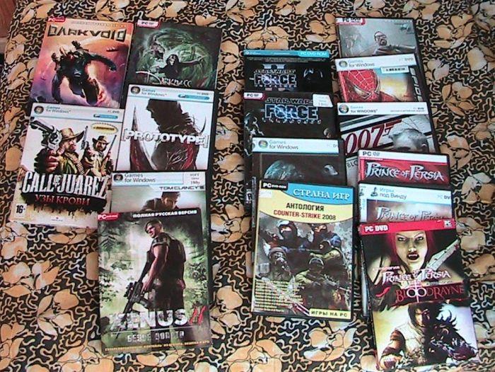комп'ютерні ігри з колекції - фото