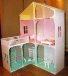 Ляльковий будиночок з дерева ексклюзивного дизайну - фото 1