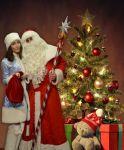 Дед Мороз и Снегурочка на детскиц утренник Херсон - фото 0