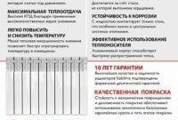 Радиаторы отопления повышенного качества по лучшим условиям сертификат - фото 2