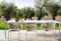 Итальянская уличная мебель: садовые столы, стулья, диваны, кресла - фото 3