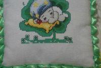 Вышитые детские подушки! - фото 1
