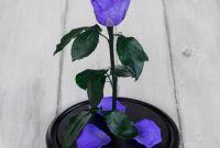 Роза в колбе - фото 1