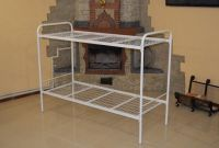 Металлические кровати двухъярусные, кровать недорого - фото 2