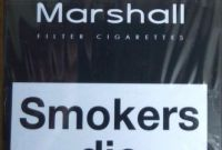 Сигареты Marchall красный,синий,чёрный, оптом-230$! - фото 0