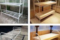 Металлическая кровать, матрасы, тумбы - фото 0