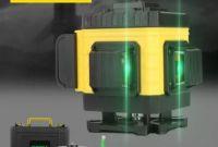 3D Лазерный уровень 12 линий STIF Germany Зеленый луч Нивелир + штатив - фото 1