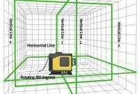3D Лазерный уровень 12 линий STIF Germany Зеленый луч Нивелир + штатив - фото 3