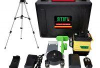 3D Лазерный уровень 12 линий STIF Germany Зеленый луч Нивелир + штатив - фото 0