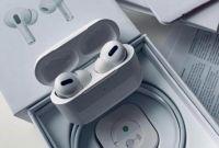 Беспроводные наушники Apple AirPods PRO Bluetooth 5.0 с кейсом - фото 3