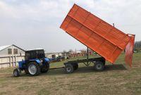 Прицеп тракторный 2ПТС- 4 самосвальный - фото 0
