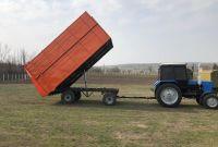 Прицеп тракторный 2ПТС- 4 самосвальный - фото 4