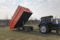 Прицеп тракторный 2ПТС- 4 самосвальный - фото 7