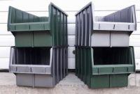 Стелажі для метизів Луцьк металеві складські стелажі з ящиками - фото 0