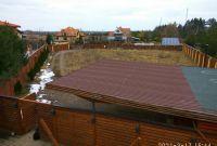 Современный дом с плоской кровлей 90м2. Ясногородка, Житомирская трасса, 28км - фото 1