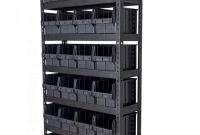 Стелажі для метизів Івано-Франківськ  металеві складські стелажі з ящиками - фото 1