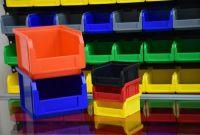 Стелажі для метизів Івано-Франківськ  металеві складські стелажі з ящиками - фото 4