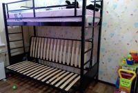 Двухъярусные металлические кровати - фото 1