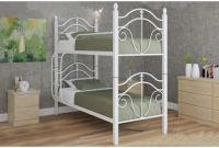 Двухъярусные металлические кровати - фото 4