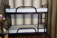 Двухъярусные металлические кровати - фото 5