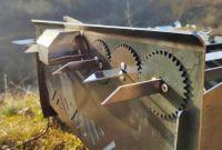 мангал автоматичний, лінивий шашличник, з мотором - фото 0