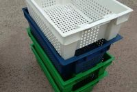 Пищевые хозяйственные пластиковые ящики для мяса молока рыбы ягод овощей в Запорожье купит - фото 7