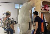 Начните продвижение с надувным костюмом белого медведя - фото 0