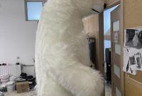Начните продвижение с надувным костюмом белого медведя - фото 1