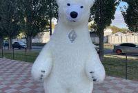 Начните продвижение с надувным костюмом белого медведя - фото 3