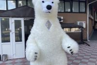 Начните продвижение с надувным костюмом белого медведя - фото 6